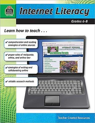 Image for Internet Literacy Grade 6-8: Grade 6-8