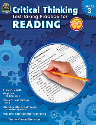 Image for TCR - Critical Thinking: Test-taking, Grade 3