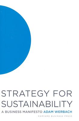 Image for Strategy for Sustainability  A Business Manifesto