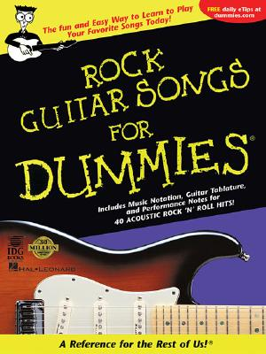 Image for Rock Guitar Songs for Dummies