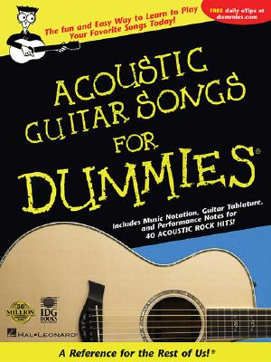 Image for Acoustic Guitar Songs for Dummies