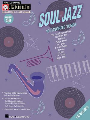 Image for Soul Jazz: Jazz Play-Along Series Volume 59 (Jazz Play Along) (Hal Leonard Jazz Play-Along)