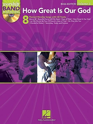 Image for How Great Is Our God - Worship Band Play-Along Vol. 3 (Bass Edition) BK/CD (Paperback)