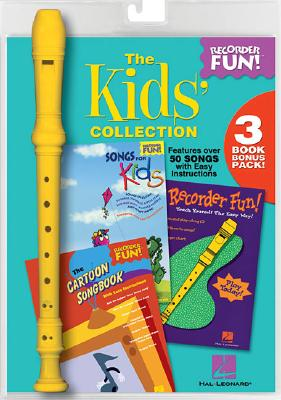 Image for Hal Leonard The Kids' Collection Recorder Fun! 3 Book Bonus Pack with Recorder