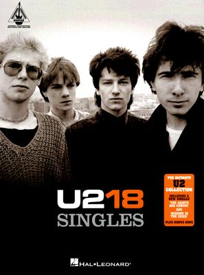 Image for U2-18 SINGLES (Guitar Recorded Versions)
