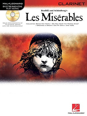Image for Les Miserables Selections For Clarinet BK/online audio (Hal-Leonard Instrumental Play-Along)
