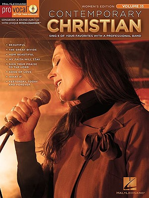 Provocal Contemporary Christian Women's Edition Vol. 35 BK/CD (Hal Leonard Pro Vocal (Numbered)), Hal Leonard Corp. [Creator]