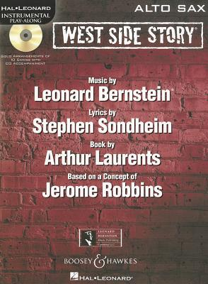 Image for West Side Story Alto Sax BK/CD Instrumental Play-Along