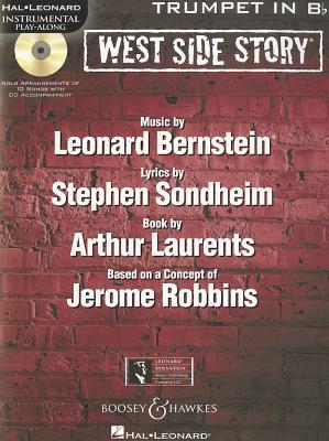 Image for West Side Story Trumpet BK/CD Instrumental Play-Along