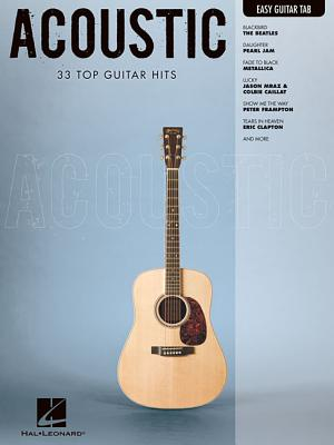 Image for Acoustic: Easy Guitar with Notes & Tab