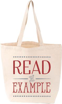 Read by Example Tote, GIBBS SMITH