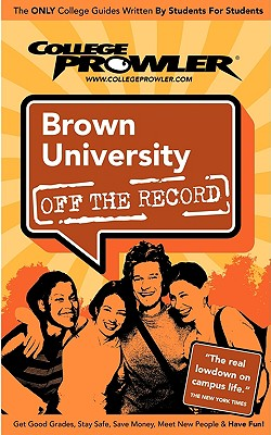 Image for Brown University Ri 2006 (Off the Record)