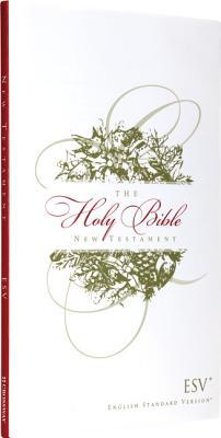 Image for ESV Outreach New Testament (Paperback, Christmas Wreath Design)