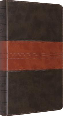 Image for ESV Thinline Bible (TruTone, Forest/Tan, Trail Design)