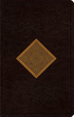 Image for ESV Thinline (Brown/Goldenrod Diamond Weave)