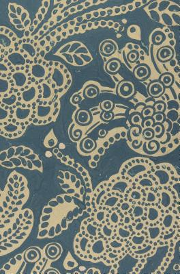 """Image for """"ESV Compact Bible (Cloth over Board, Blue Flora)"""""""