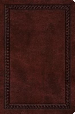 """Image for """"''ESV Value Compact Bible (TruTone, Mahogany, Border Design)''"""""""