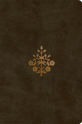 Image for ESV Large Print Personal Size Bible (Trutone, Olive, Branch Design)