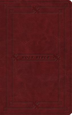 Image for ESV Value Thinline Bible (TT Cordovan)