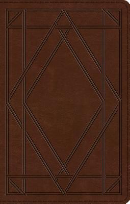 "Image for ""ESV UltraThin Bible (TruTone, Chestnut, Wood Panel Design)"""