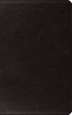 "Image for ""''ESV Large Print Thinline Bible, Black Genuine Leather''"""