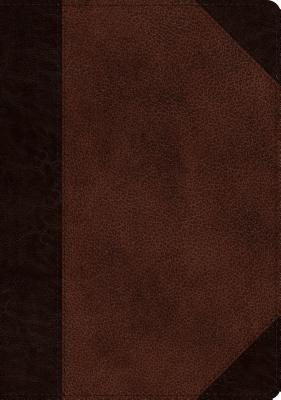 "Image for ""ESV Single Column Journaling Bible, Large Print, TruTone, Brown/Walnut, Portfolio Design"""