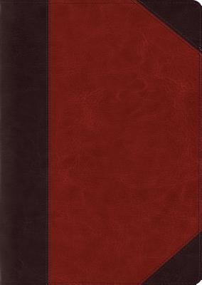 "Image for ""''ESV Study Bible, Large Print, TruTone, Brown/Cordovan, Portfolio Design''"""