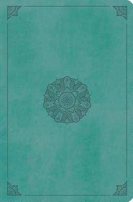 "Image for ""''ESV Value Compact Bible (TruTone Imitation Leather, Turquoise with Emblem Design)''"""