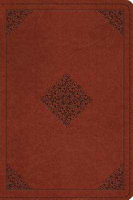Image for ESV Personal Reference Bible (TruTone, Saddle, Ornament Design)