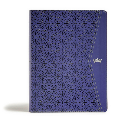 Image for CSB Tony Evans Study Bible, Purple LeatherTouch