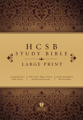 Image for HCSB Large Print Study Bible, Hardcover