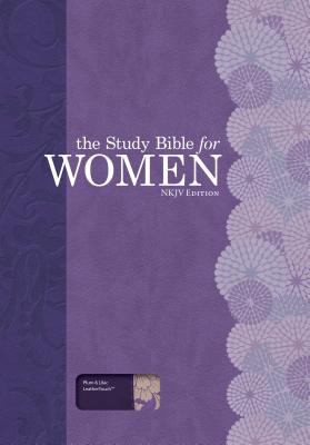 Image for The Study Bible for Women: NKJV Edition, Plum/Lilac Leathertouch
