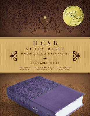 Image for HCSB Study Bible, Purple LeatherTouch