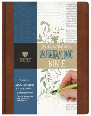 Image for HCSB Illustrator's Notetaking Bible, British Tan, LeatherTouch