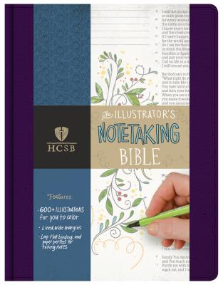 Image for HCSB Illustrator's Notetaking Bible, Purple Linen