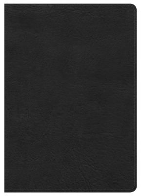 Image for HCSB Large Print Compact Bible, Black LeatherTouch