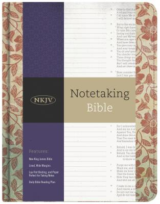 Image for NKJV Notetaking Bible, Red Floral