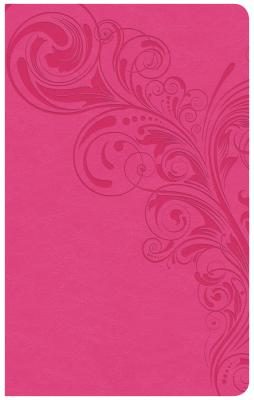 Image for CSB Ultrathin Reference Bible, Pink LeatherTouch, Indexed