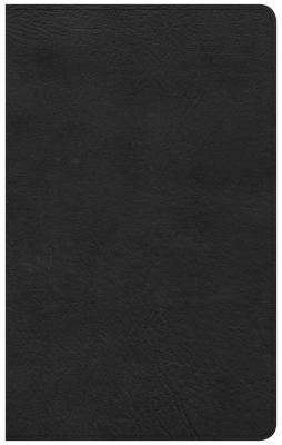 Image for CSB Ultrathin Reference Bible, Black LeatherTouch