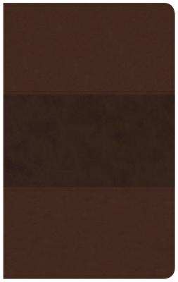 CSB Ultrathin Reference Bible, Saddle Brown LeatherTouch, CSB Bibles by Holman