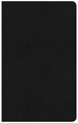 Image for CSB Ultrathin Reference Bible, Black Premium Leather