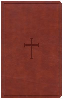 Image for CSB Ultrathin Reference Bible, Brown LeatherTouch
