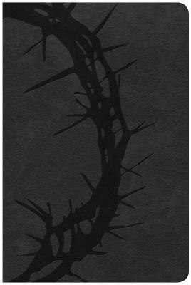 """Image for """"CSB Large Print Personal Size Reference Bible, Charcoal Leathertouch"""""""