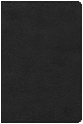 """Image for """"CSB Large Print Personal Size Reference Bible, Black Leathertouch, Indexed"""""""