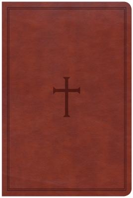Image for CSB Large Print Personal Size Reference Bible, Brown LeatherTouch
