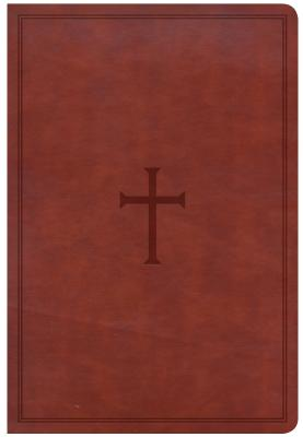 Image for CSB Giant Print Reference Bible, Brown LeatherTouch, Indexed