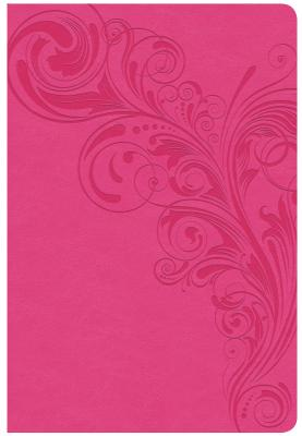 """Image for """"CSB Giant Print Reference Bible, Pink Leathertouch, Indexed"""""""