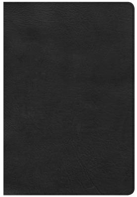 Image for CSB Giant Print Reference Bible, Black LeatherTouch