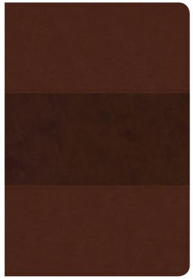 Image for CSB Giant Print Reference Bible, Saddle Brown LeatherTouch