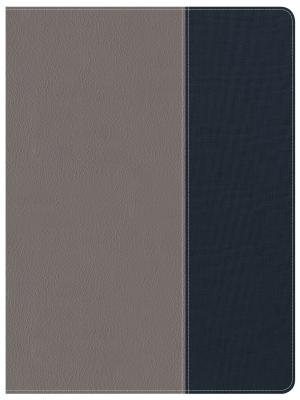 """Image for """"CSB Apologetics Study Bible for Students, Gray and Navy LeatherTouch"""""""